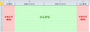 ExcelのIMEモードをコントロールする